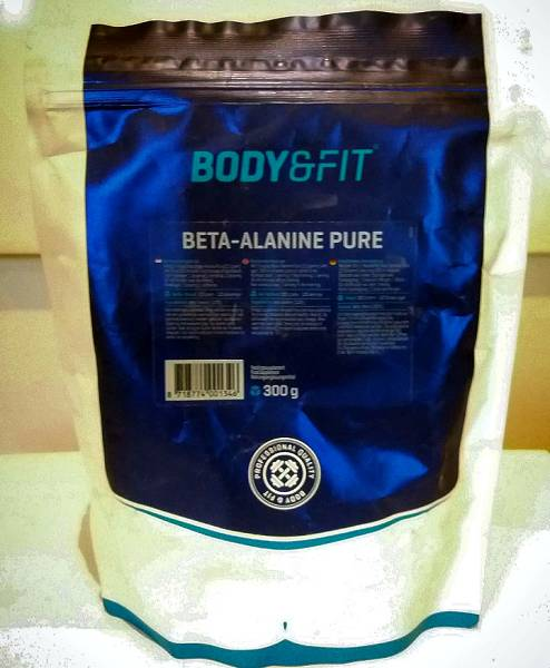 Review: Beta-Alanin Pure von Body & Fit im Test