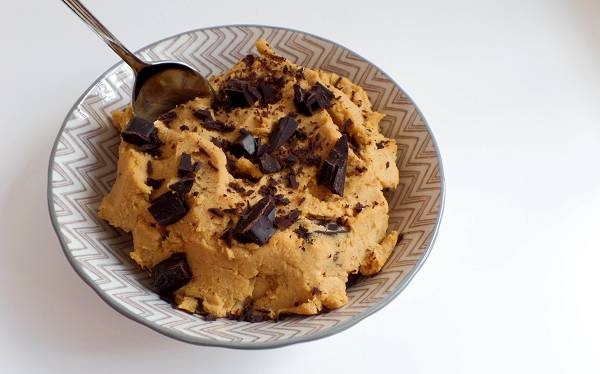 Kichererbsen Cookie Dough | Veganes Dessert