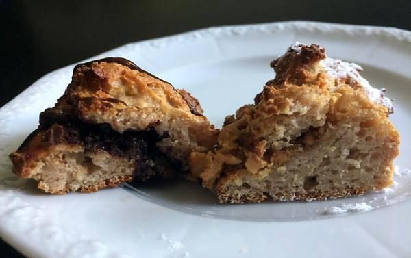 Gefüllte Frühstückshörnchen | Bulking Rezept