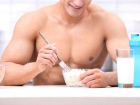Protein vor dem zu Bett gehen hilft dir beim Muskelaufbau
