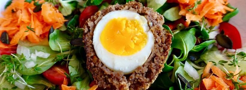 Eier im Hackfleischmantel | Low Carb High Fat Rezept