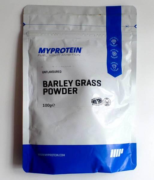 Review: Gerstengraspulver von Myprotein im Test