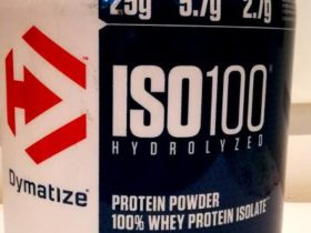 Review: ISO100 Hydrolyzed von Dymatize Nutrition im Test
