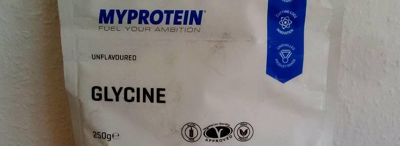 Review: L-Glycin von Myprotein im Test