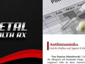 Metal Health Rx: Mai Ausgabe 2018 ab sofort erhältlich!