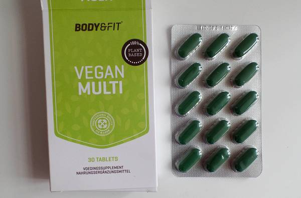 Review: Vegan Multi von Body & Fit