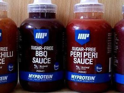 Review: Zuckerfreie & kalorienarme Soßen von Myprotein im Test