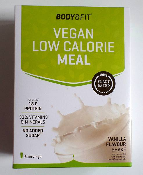 Review: Vegan Low Calorie Meal von Body & Fit