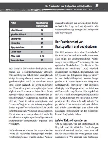 Buchrezension: Optimale Ernährung für Bodybuilder & Kraftsportler von Philipp Rauscher