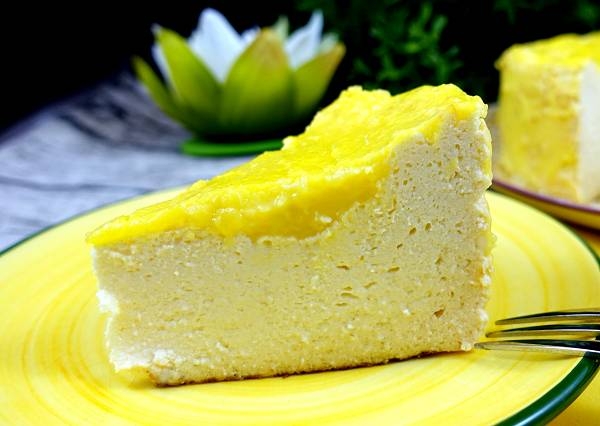 Low Carb Zitronen Käsekuchen | Proteinreiches Kuchen Rezept