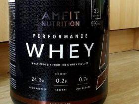 Review: Amfit Nutrition Performance Whey Protein von Amfit Nutrition im Test