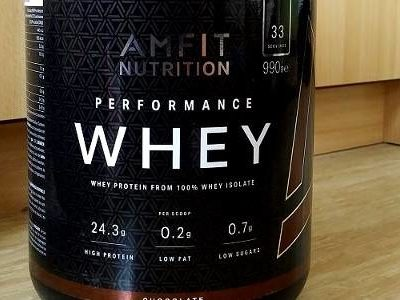 Review: Amfit Nutrition Performance Whey Protein von Amfit Nutrition im Test