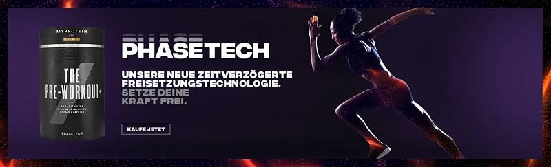 Myprotein launcht die PhaseTech Produktlinie