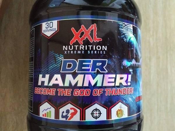 Review: Der Hammer von XXL Nutrition im Test