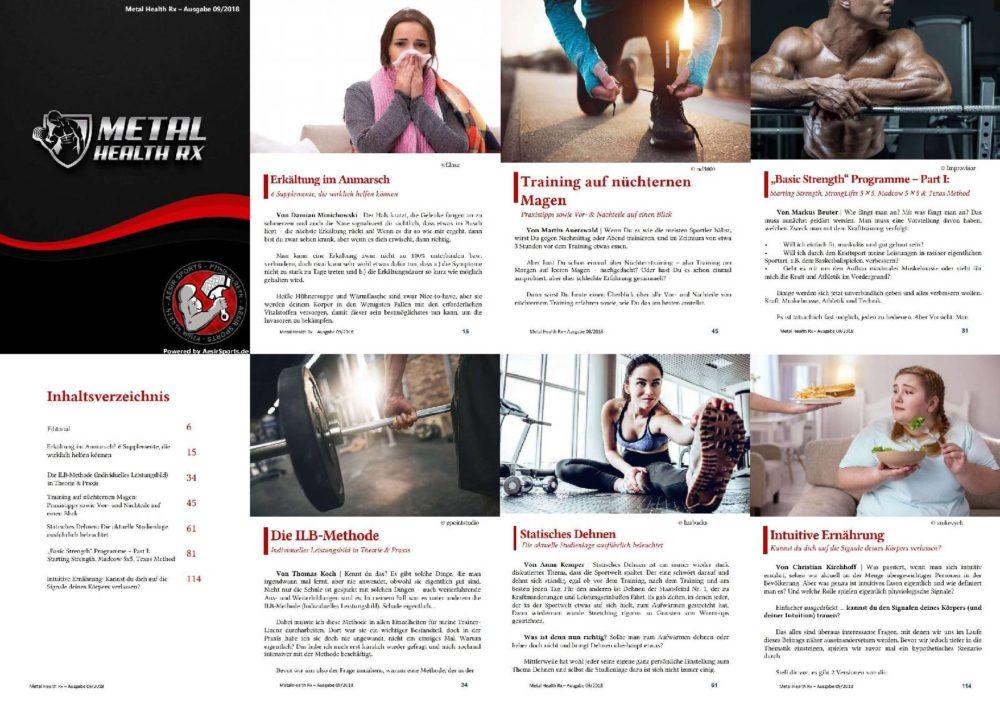 Was dich in der MHRx September 2018 Ausgabe erwartet