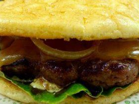 Oopsies Rezept   Low Carb Burger Brötchen