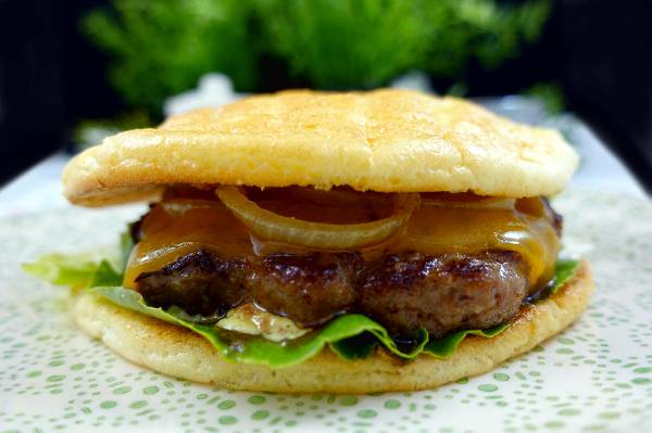 Oopsies Rezept | Low Carb Burger Brötchen