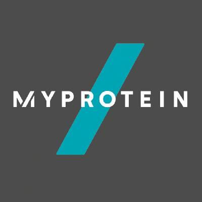Das Myprotein Logo erstrahlt in neuem, schlichtem Design