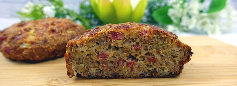 Schinken Käse Brötchen | Low Carb High Fat Rezept