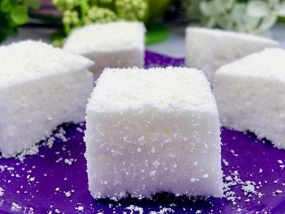 Selbstgemachte Low Carb Marshmallows