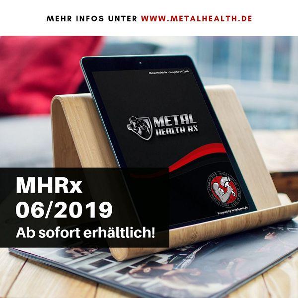 Metal Health Rx: Juni Ausgabe 2019 ab sofort erhältlich!