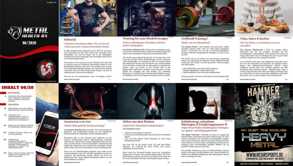 Metal Health Rx: Juni Ausgabe 2020 ab sofort erhältlich!